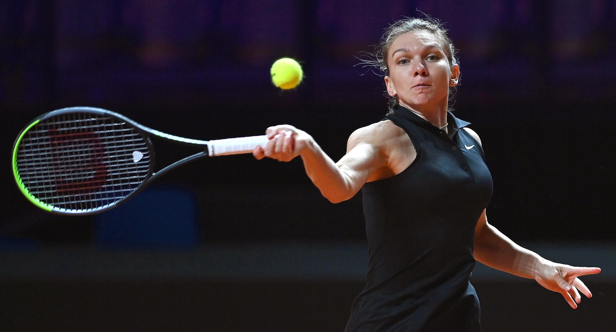 Simona Halep s-a calificat în turul trei la Madrid. Românca a trecut cu 2-0 de Saisai Zheng