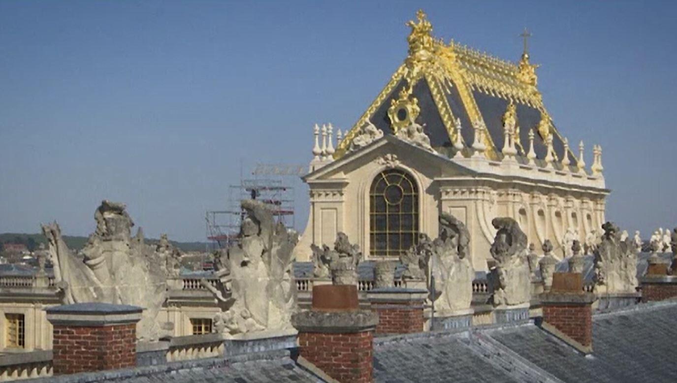 Renovări de amploare la Palatul Versailles. Capela Regală a fost reparată și acoperită cu foițe de aur