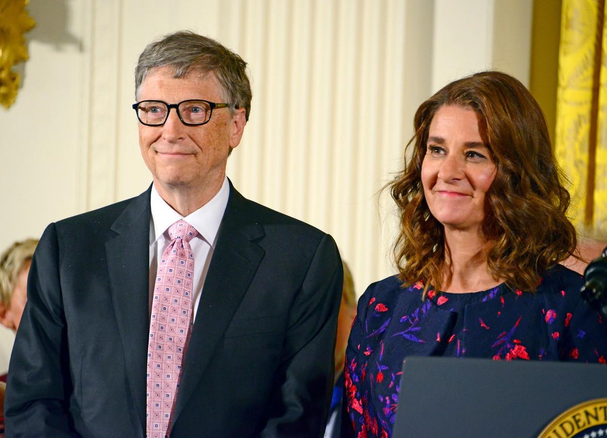 Cum își vor împărți averea Melinda și Bill Gates. El are 146 de miliarde de dolari