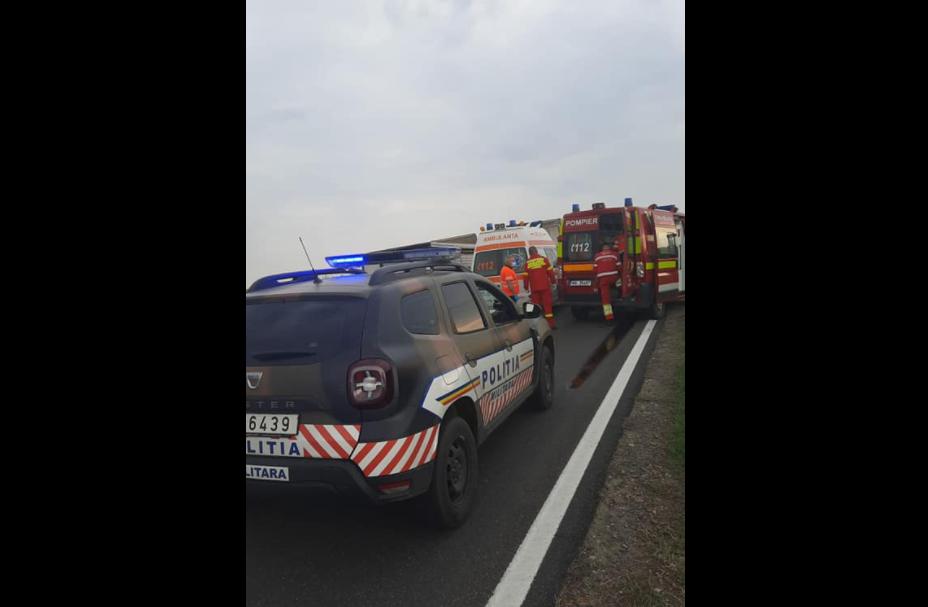 Militarii polonezi care se îndreptau la exerciţiul Dacia 21 Livex au acordat primul ajutor la un accident GALERIE FOTO