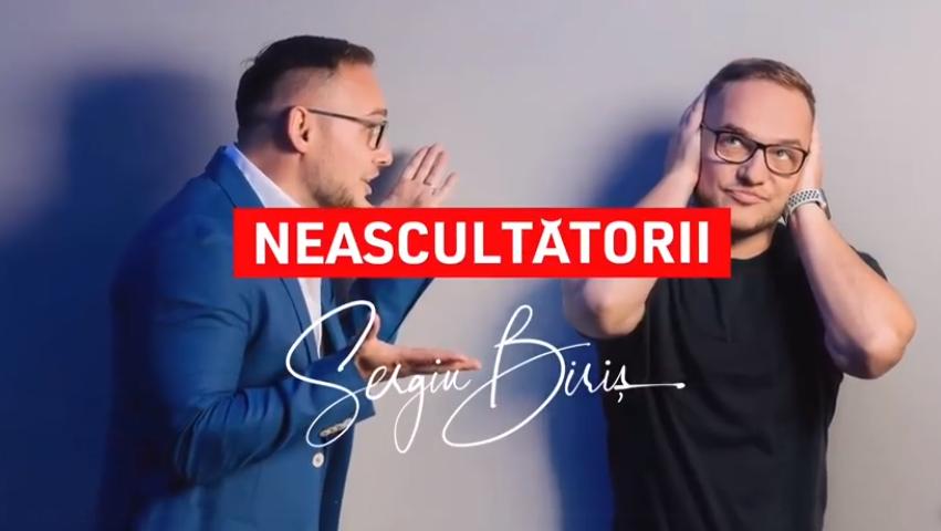 """""""Neascultătorii"""", cu Sergiu Biriș, o nouă emisiune exclusiv digitală pe Pro TV Plus, dedicată antreprenorilor din tehnologie"""