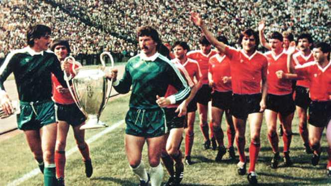 Finala de la Sevilla: 35 de ani de la câştigarea de către Steaua Bucureşti a Cupei Campionilor Europeni la fotbal (7 mai)