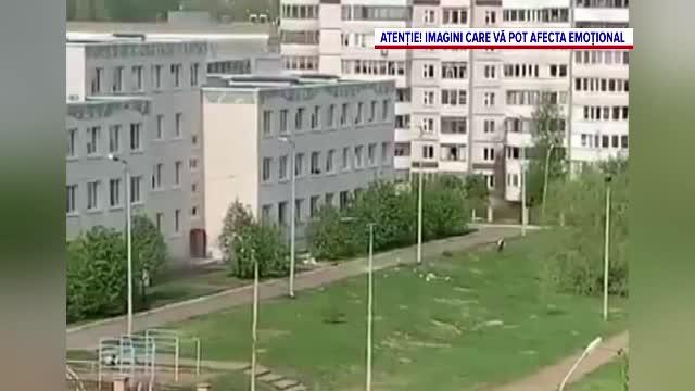 """Mărturiile cutremurătoare ale copiilor care au asistat la masacrul din Rusia: """" Profesorul le-a spus tuturor să se ascundă"""""""