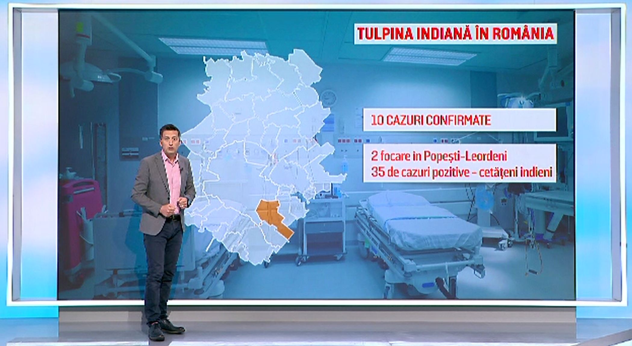 Tulpina indiană de COVID se extinde cu rapiditate pe tot globul. Care este situația cazurilor în România