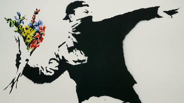 Tablou realizat de Banksy, cumpărat cu criptomonede. Cu cât a fost achiziționat