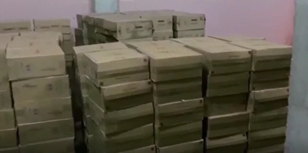 Polițiștii buzoieni au confiscat milioane de țigări aduse din Republica Moldova