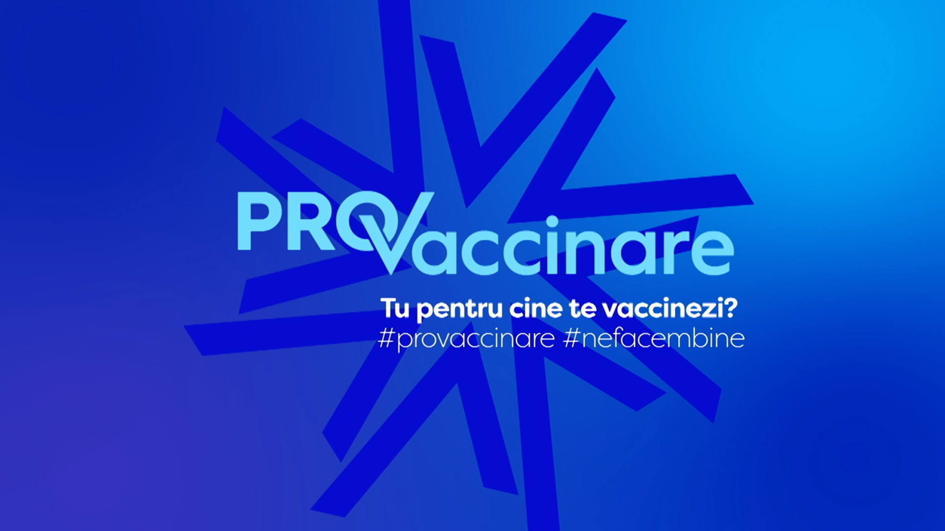PRO TV e PRO Vaccinare. Tu pentru cine te vaccinezi?