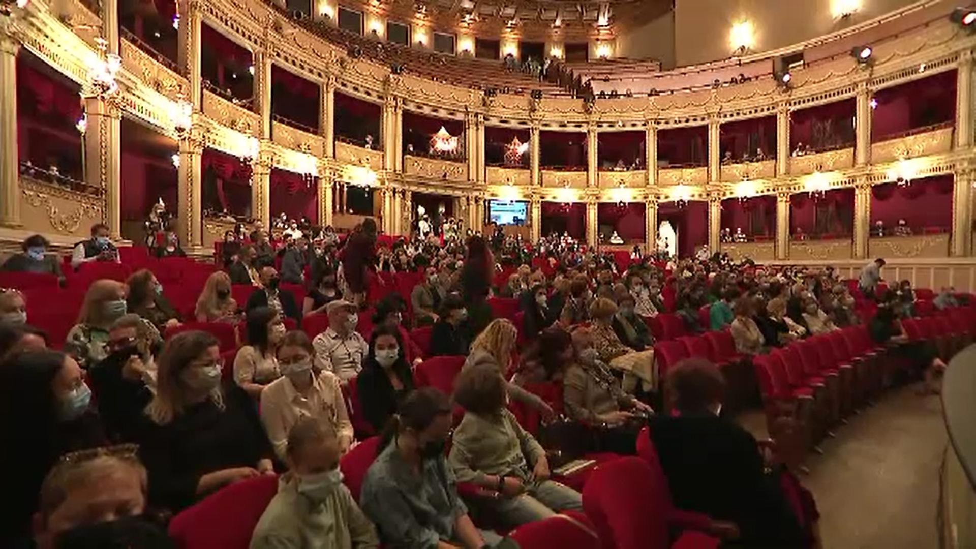 Gala ''Libera Musica'' - primul spectacol-pilot la care au participat 700 de spectatori în interior