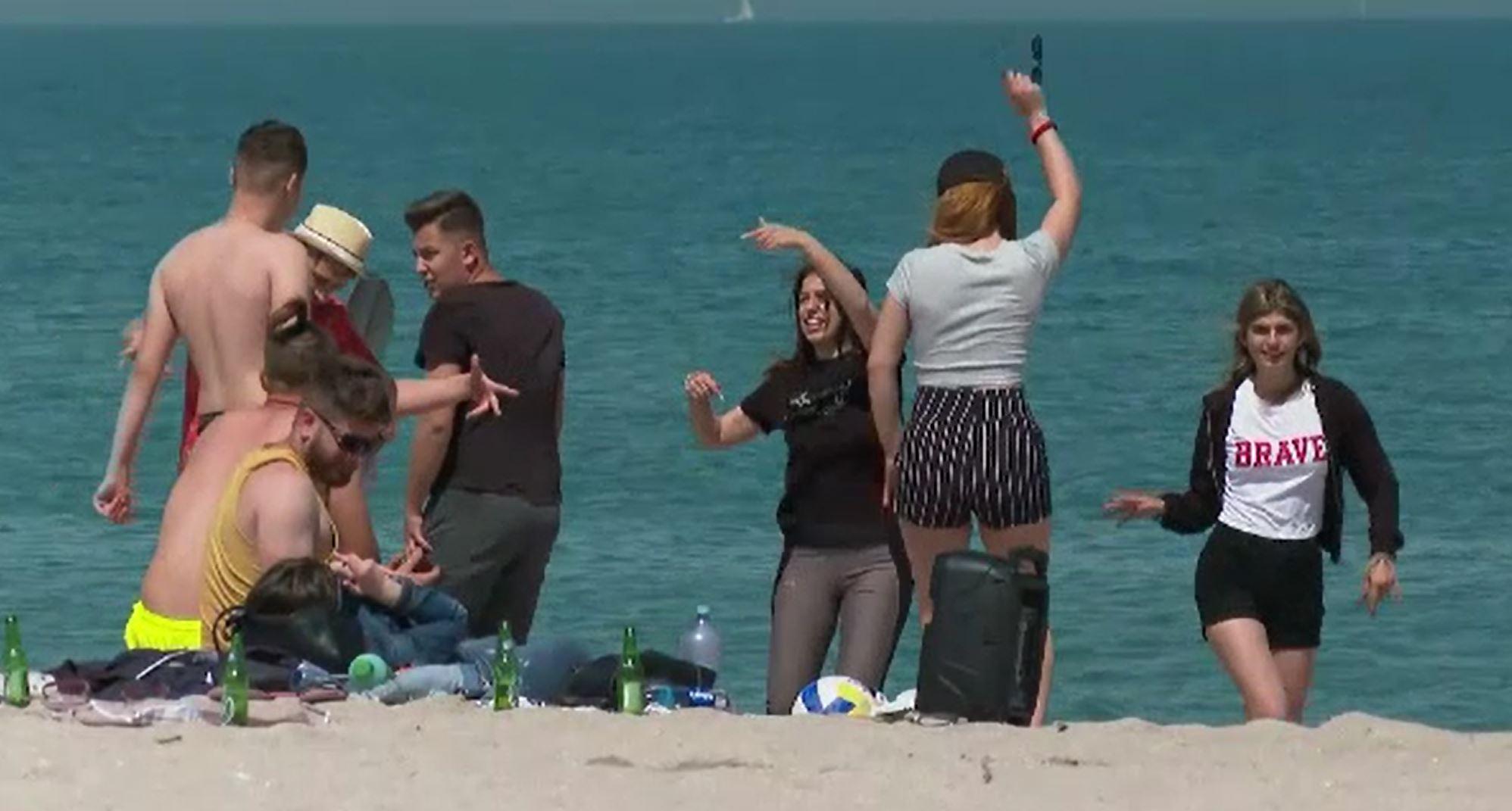 Vama Veche, la mare căutare printre români, în primul weekend cu mai puține restricții