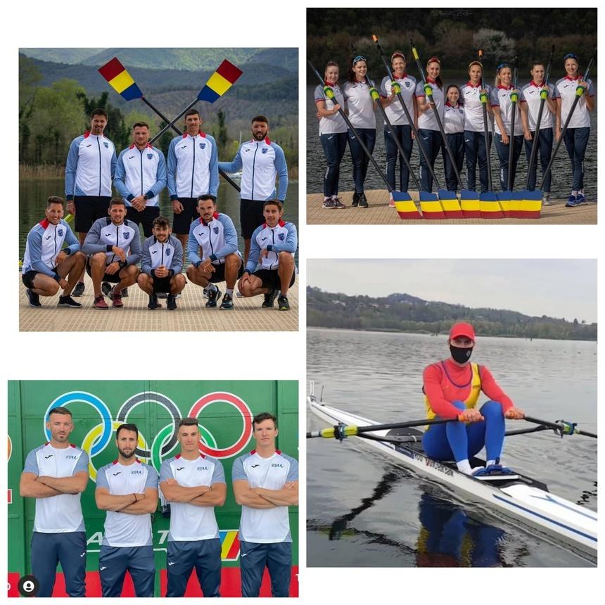 Echipajul canotaj de 8+1 feminin s-a calificat la JO de la Tokyo, după medalia de argint cucerită la Lucerna