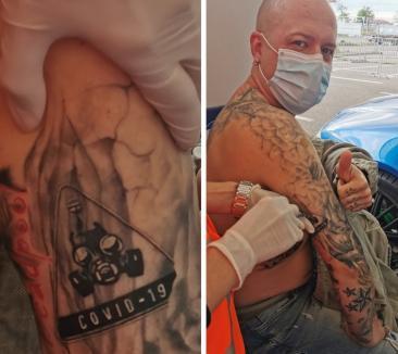 Un orădean şi-a tatuat