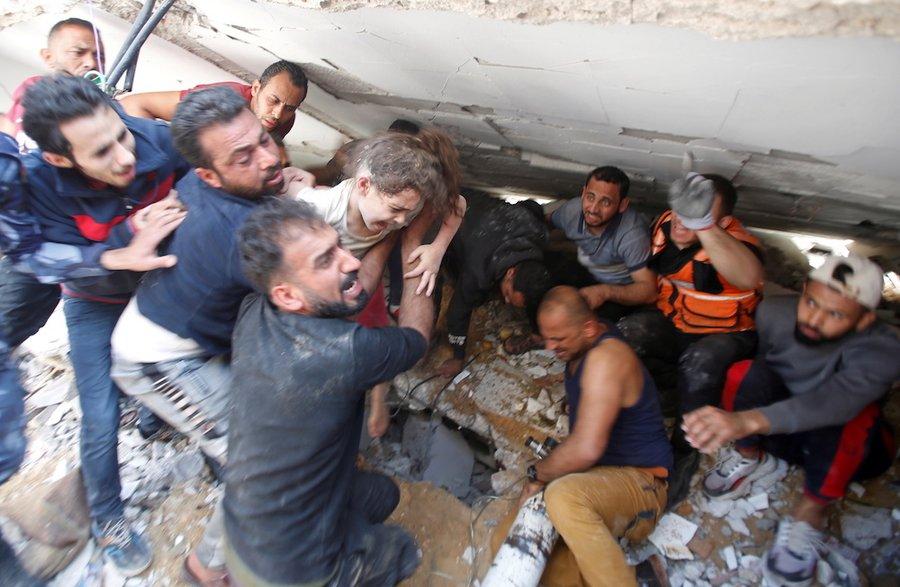 Gaza - 33 de morţi în raiduri, cel mai grav bilanţ zilnic de luni