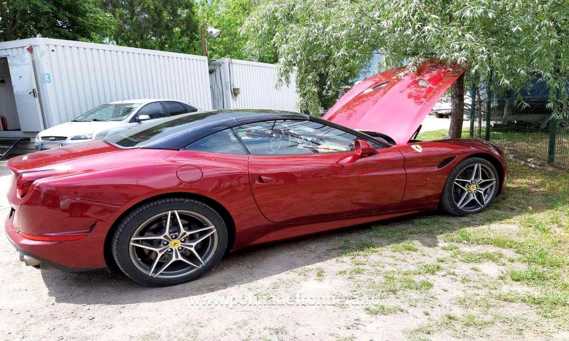 Autoturisme de lux căutate în Germania, descoperite de poliție în România. Un Ferrari California a fost reținut în Brăila