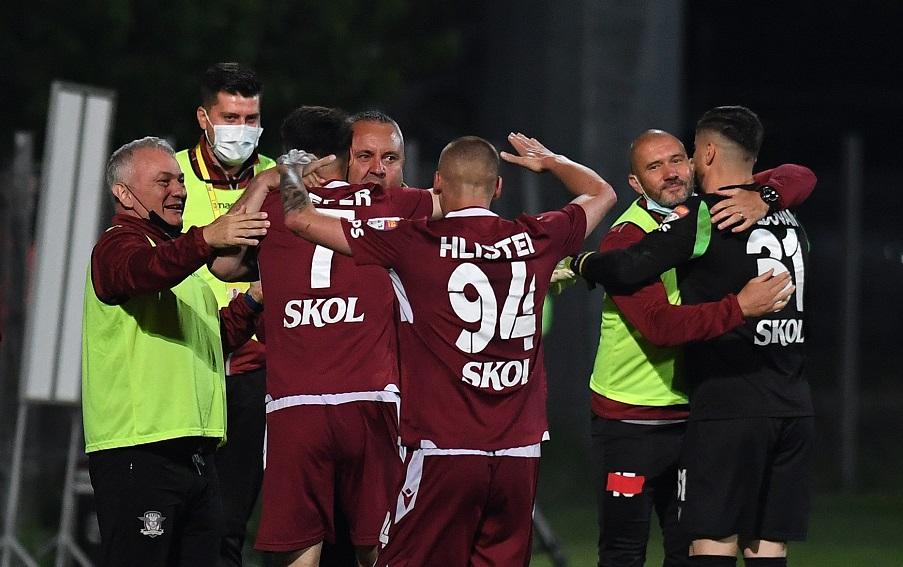 Rapid a promovat în Liga I. Echipa din Giulești revine în primul eșalon după 6 ani