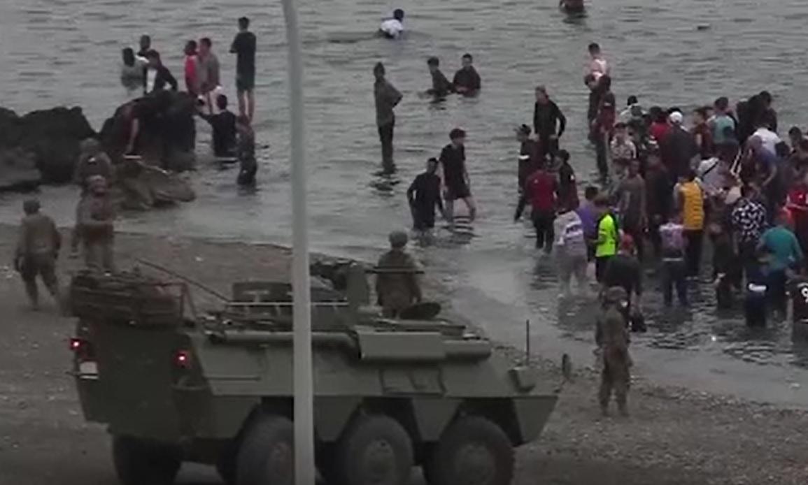 Exodul migranților în Ceuta se apropie de sfârșit. Peste 4.000 de oameni au fost trimiși în Maroc