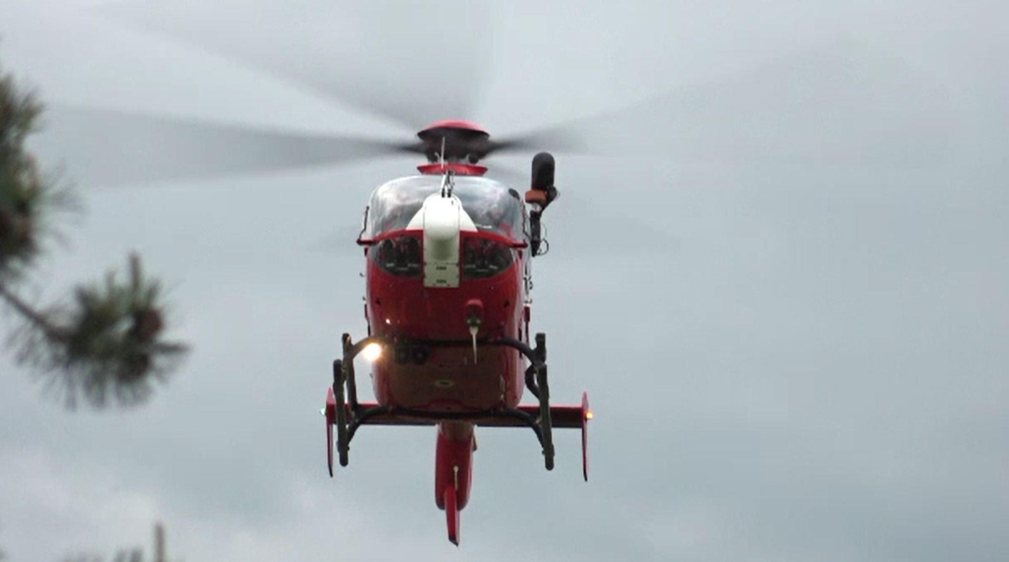 Copil de 11 ani, preluat de urgență cu elicopterul după un accident violent petrecut în Târgu Mureș