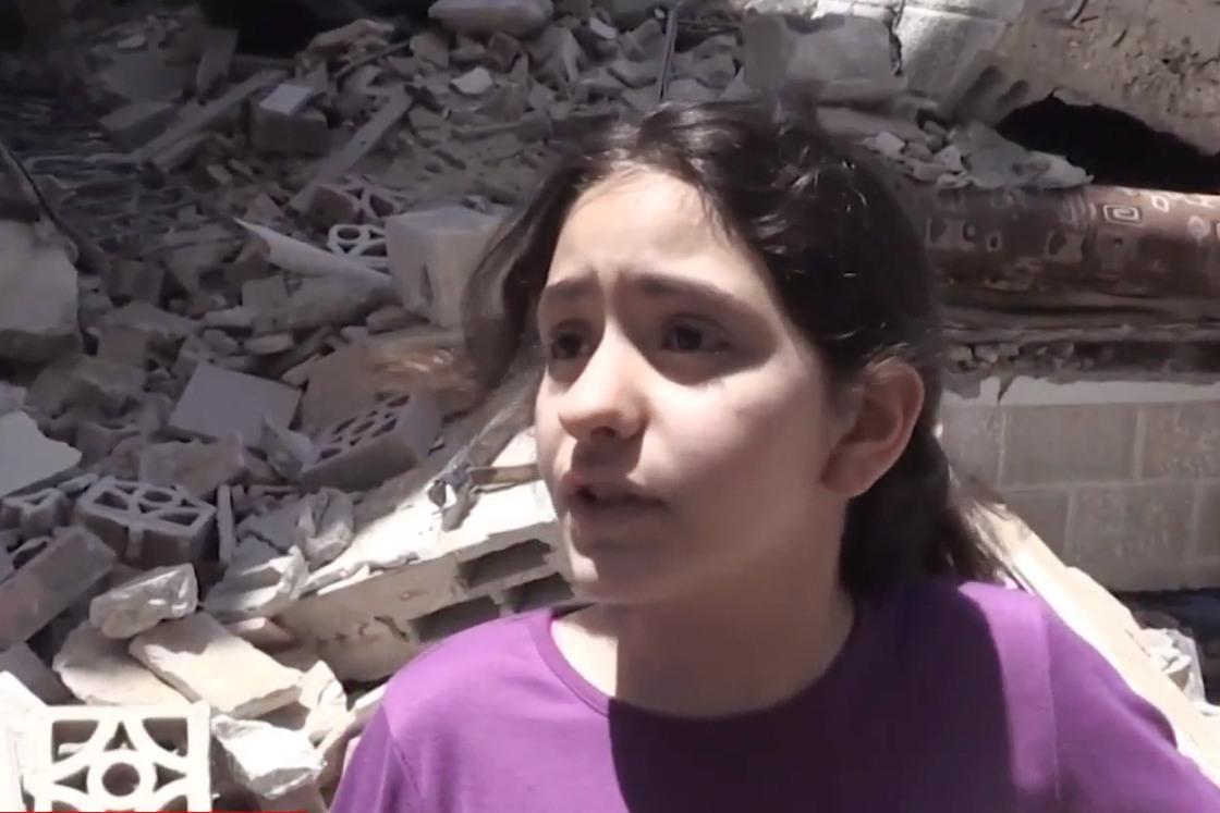 """""""Murim și nu merităm asta"""". Apelul disperat al unei fetițe de 10 ani din Fâșia Gaza"""