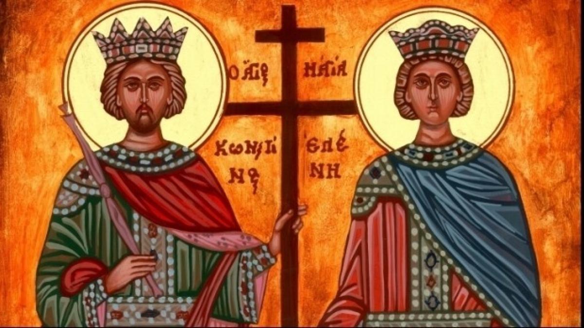 Povestea Sfinților Constantin și Elena. Obiceiuri și tradiții pentru această zi
