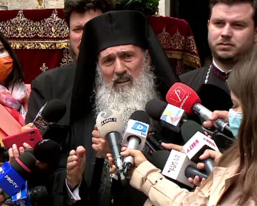 """Răspunsul lui Teodosie la mustrările Patriarhiei: """"Doar Dumnezeu poate să-mi dea sancţiune!"""""""