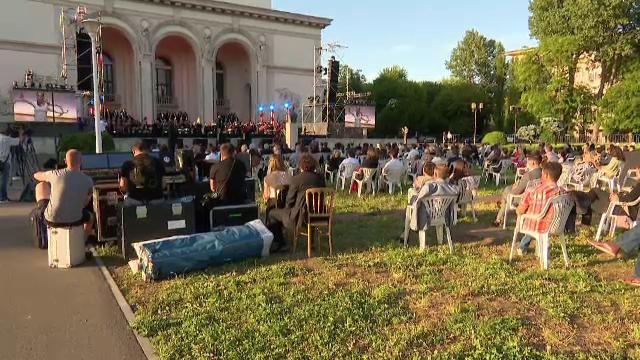 Spectacolul-pilot de la Operă a adunat 300 de persoane, deși erau așteptate 500.
