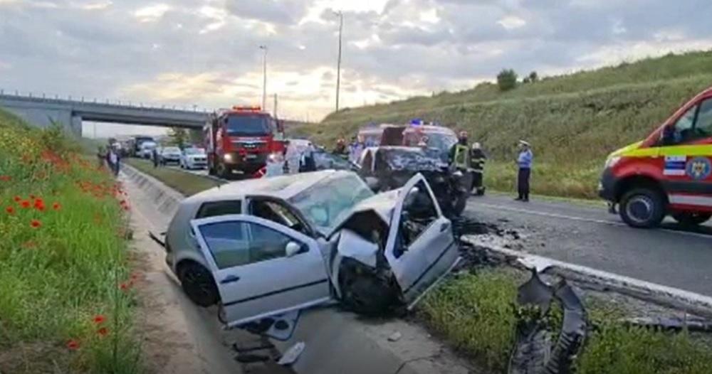 Accident cumplit în Constanța. O tânără de 24 de ani a murit, iar două persoane au fost rănite grav