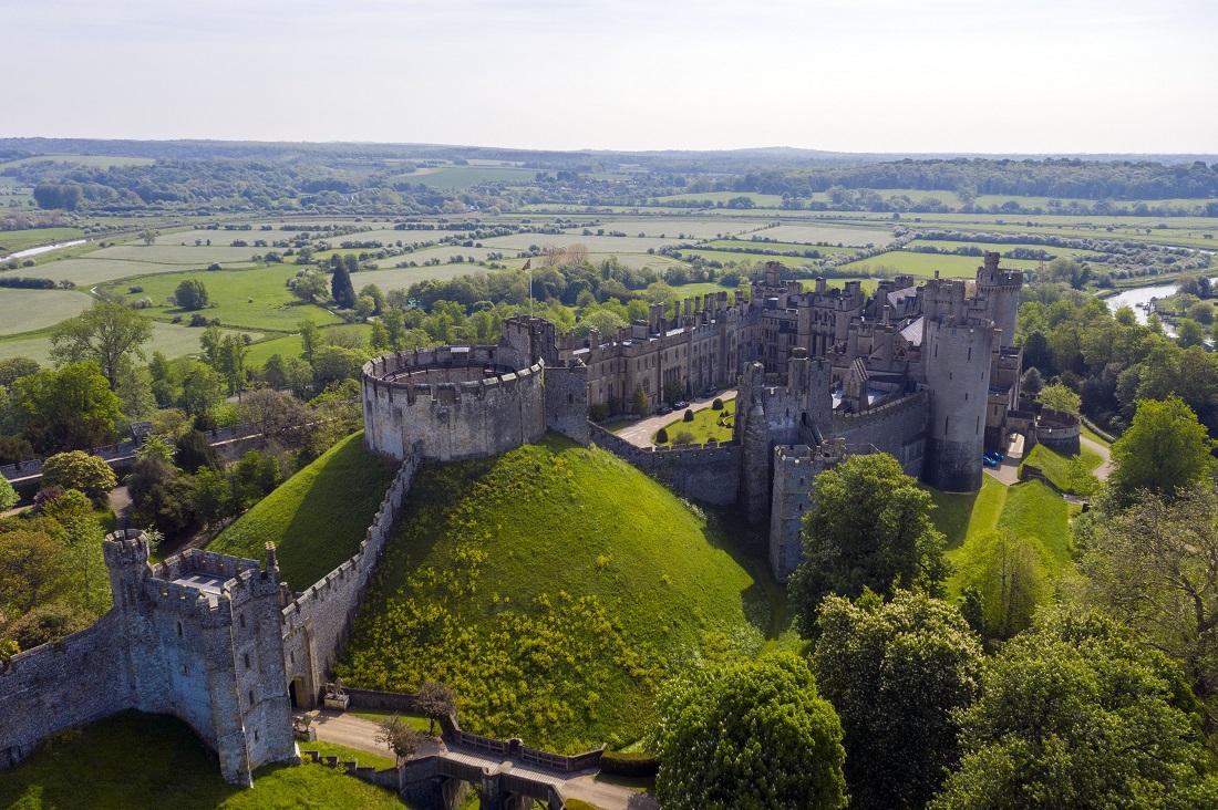 Castelul Arundel a fost jefuit. Hoții au furat obiecte în valoare de peste 1 milion de lire sterline