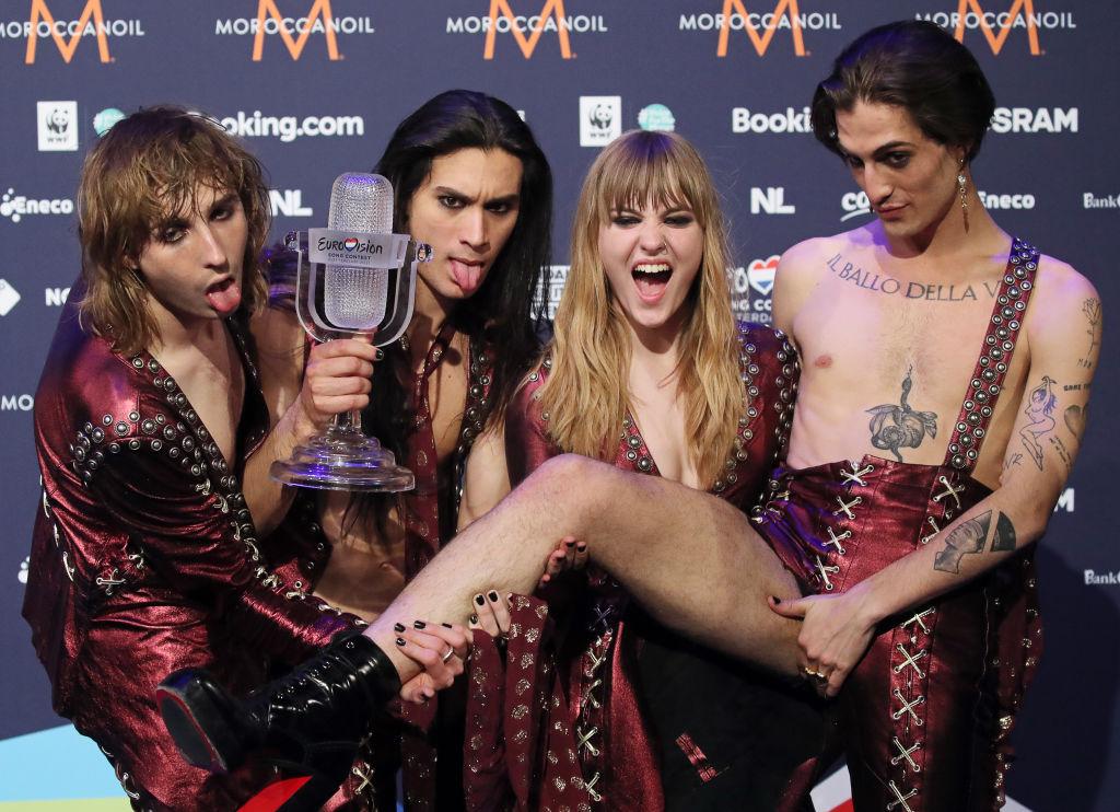 Grupul italian Måneskin, câştigător la Eurovision, este acuzat de plagiat: