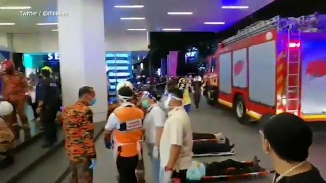 Accident îngrozitor la metroul din Kuala Lumpur. Peste 200 de răniți după o coliziune între 2 garnituri de tren