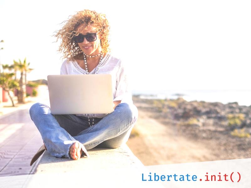 (P) Libertate.init – cinci pași care te vor scoate din rutină și îți vor oferi libertate de mișcare