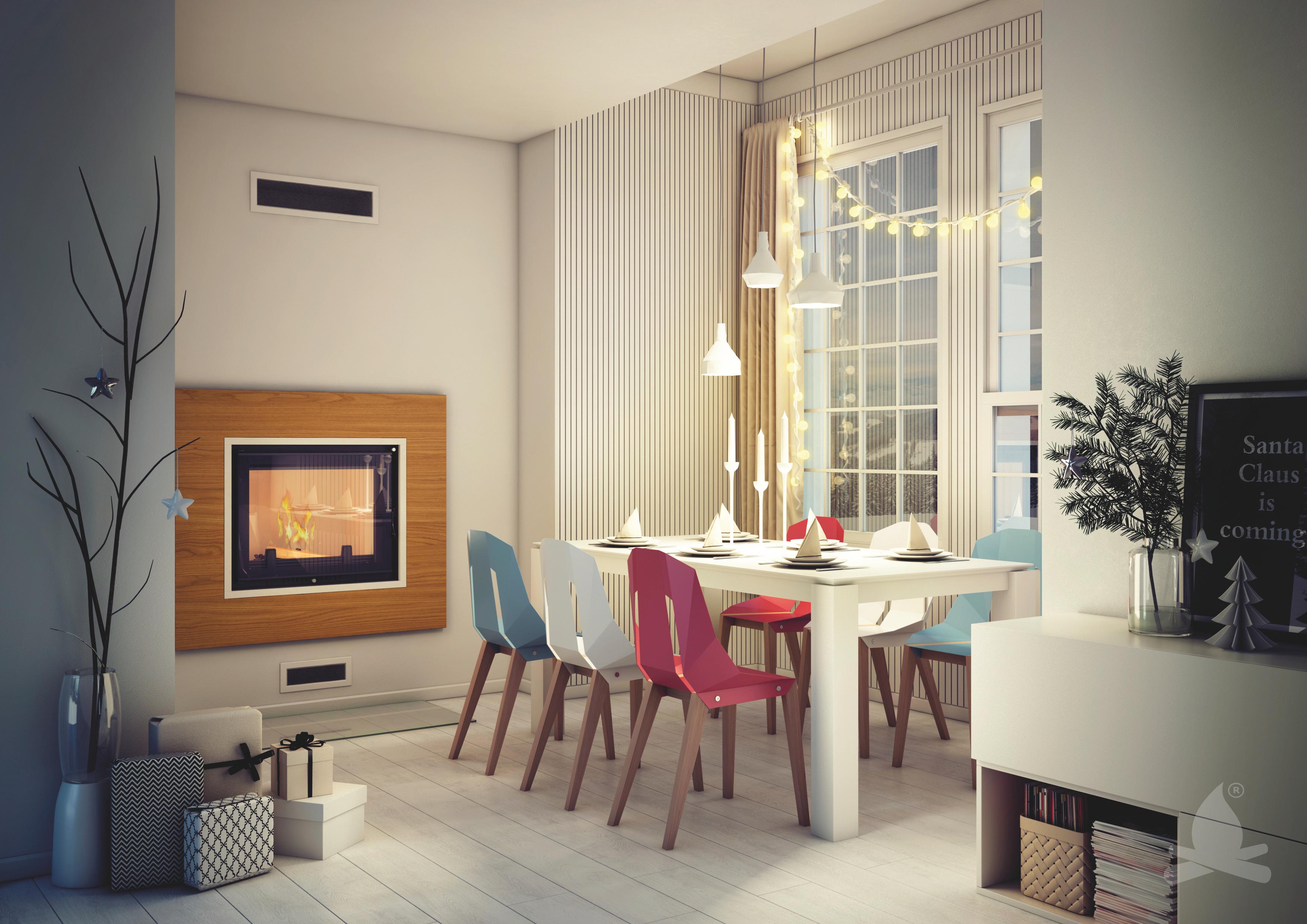 (P) Șemineul cu puterea unei centrale termice există și va arăta superb în casa ta!