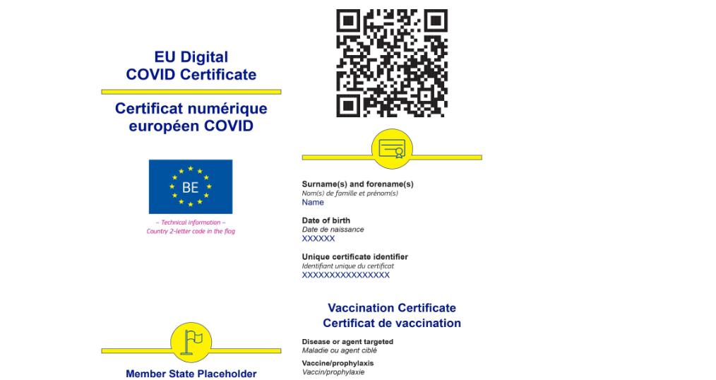 Cum va arăta certificatul european de vaccinare, care va intra în vigoare de la 1 iulie