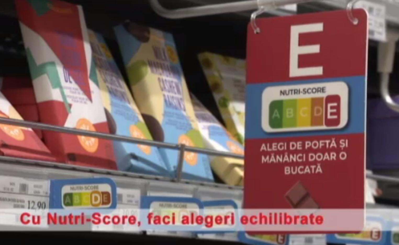 (P) Mega Image introduce etichetarea Nutri-Score, care clasifică produsele alimentare pe baza informațiilor nutriționale