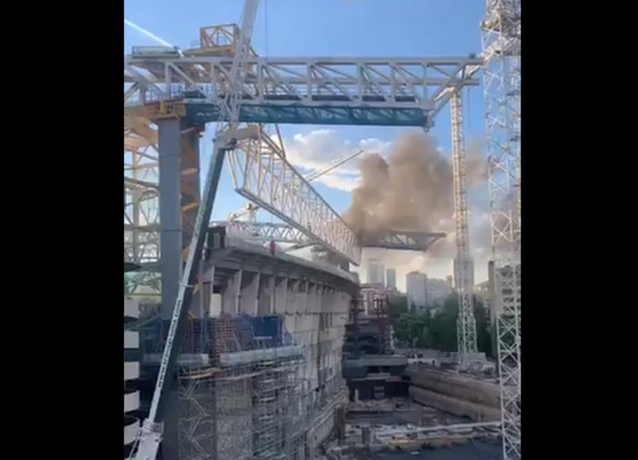 Alertă de incendiu la stadionul Santiago Bernabeu. Pompierii au fost chemați pentru a stinge flăcările