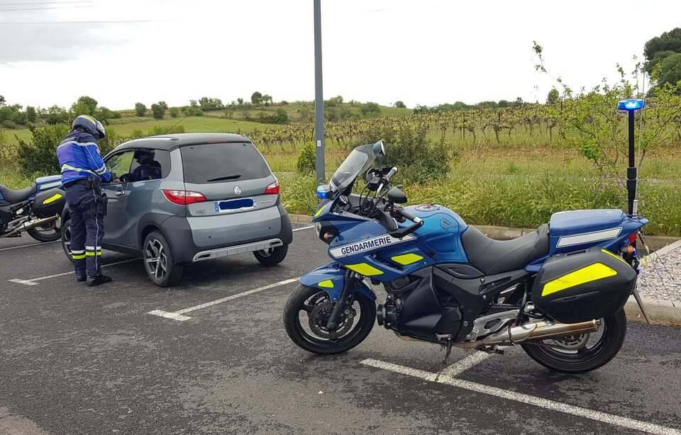 Amenda primită de un șofer din Franța pentru că circula prea încet pe autostradă