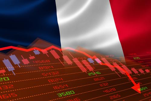 Franța, în recesiune în primul trimestru din acest an