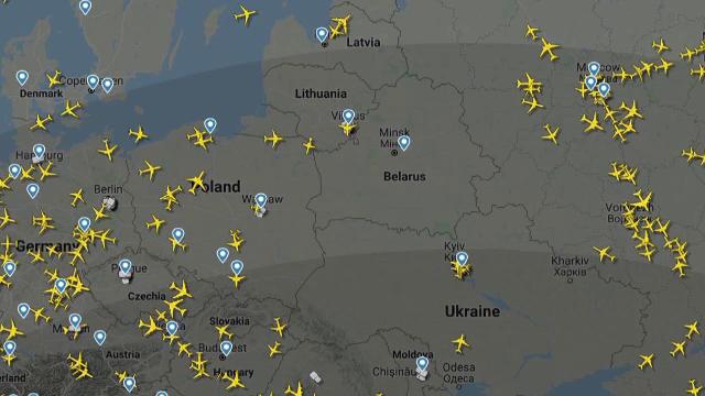 """Trei curse de la Paris și Viena către Moscova au fost anulate. """"Încă nu e clar care sunt intenţiile Rusiei"""""""