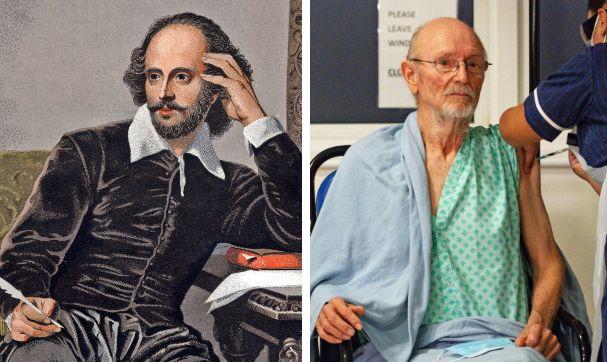 Moartea dramaturgului William Shakespeare după vaccinul Pfizer, anunțată la o televiziune din Argentina