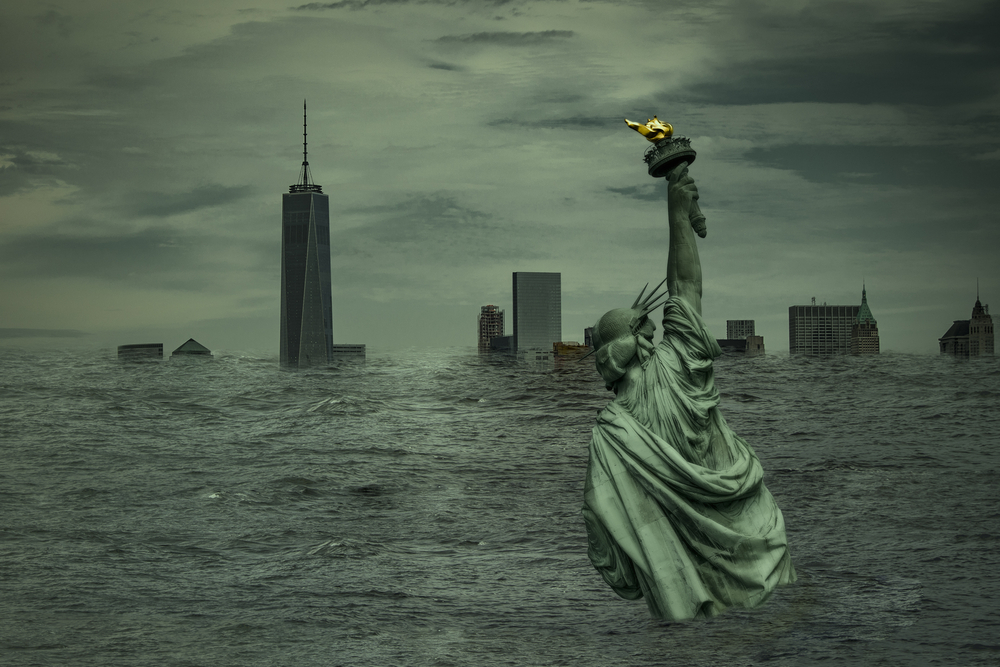 Orașe de coastă precum New York sau Miami vor ajunge sub ape în câțiva ani. Previziunile cercetătorilor