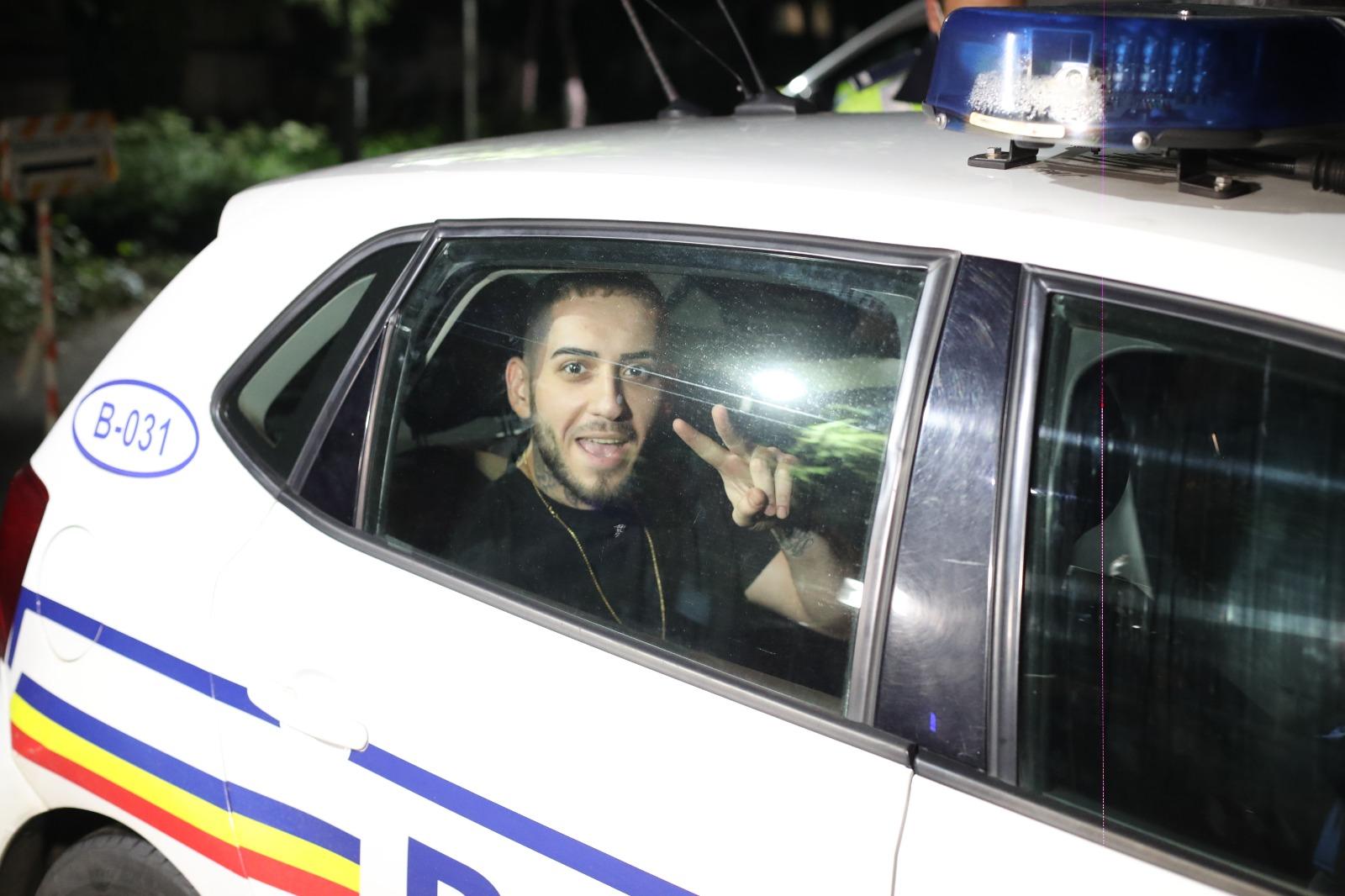 Fulgy a fost reținut de poliție, ar fi lovit un jurnalist și i-a furat telefonul mobil