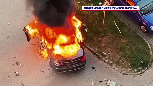 Filmul zilei în care Ioan Crișan a murit în explozia mașinii sale. Bomba ar fi fost pusă sub scaunul său