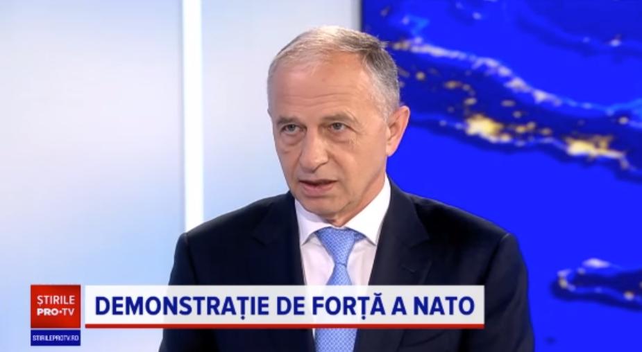 """INTERVIU. Mircea Geoană: """"Suntem extrem de interesați ca Rusia să vadă ce reprezintă NATO"""""""