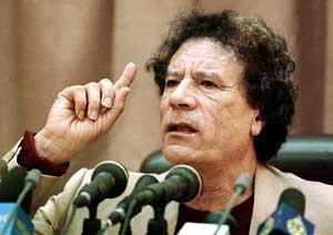 Muammar Ghaddafi a acceptat un plan de incetare a focului