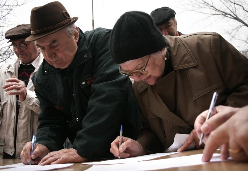 De ziua internationala a pensionarilor, s-au dat pensii mai mari cu 2%
