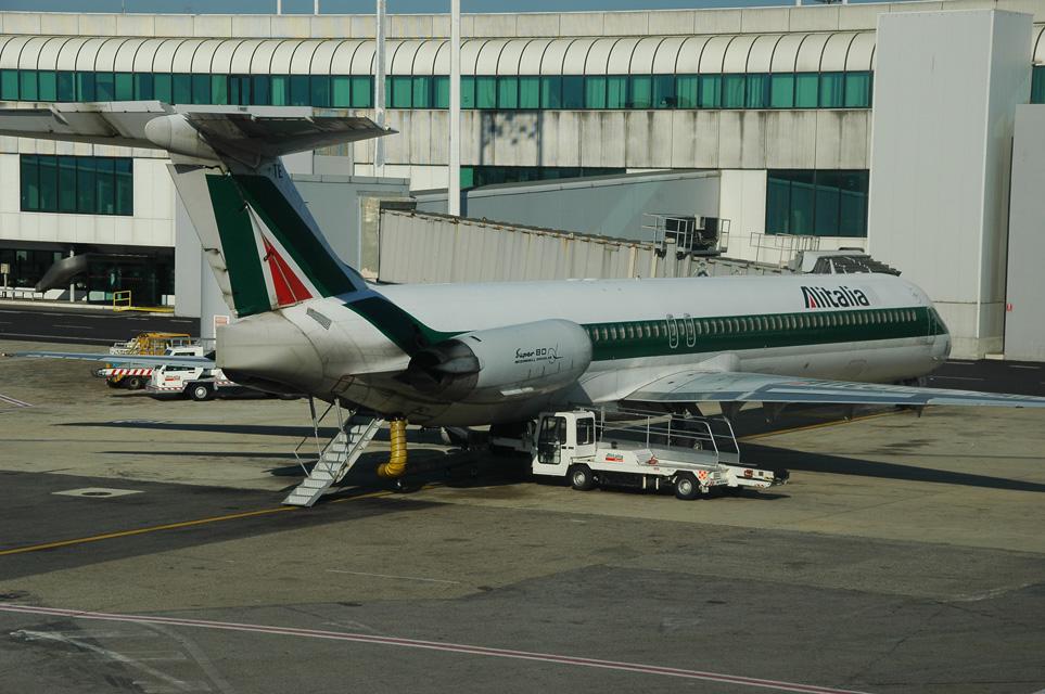 Tentativa de deturnare a unui avion Alitalia catre Tripoli
