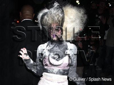 Lady GaGa nu se... impiedica de-o cazatura!