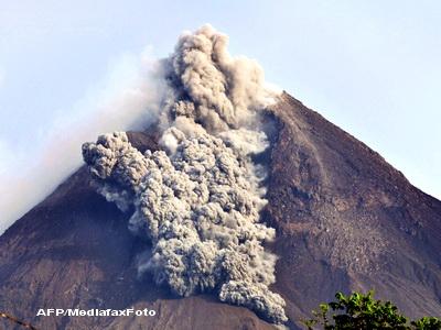 Indonezia si Ecuador in stare de alerta, sub amenintarea a doi vulcani
