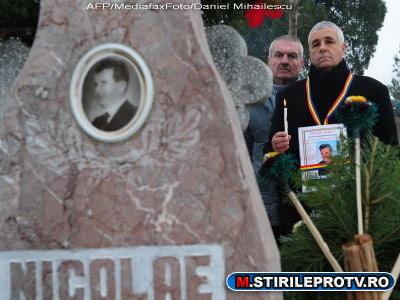 Nicolae Ceausescu, ingropat in cimitirul Ghencea. Dubii in cazul Elenei