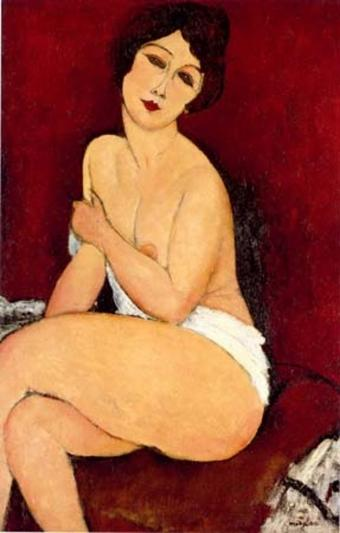 Record! O opera de Modigliani, vanduta pentru aproape 70 milioane de dolari
