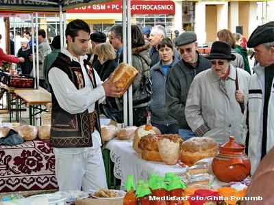 Targ national de produse traditionale la Bucuresti, 5-7 noiembrie