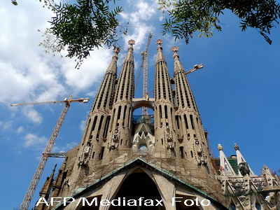 Celebra Sagrada Familia, ridicata la rang de bazilica de catre Papa